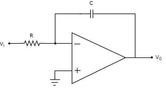 Op-amp as Integrator