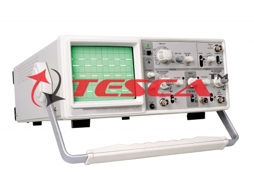 20 MHz. Oscilloscope w/ frequency counter