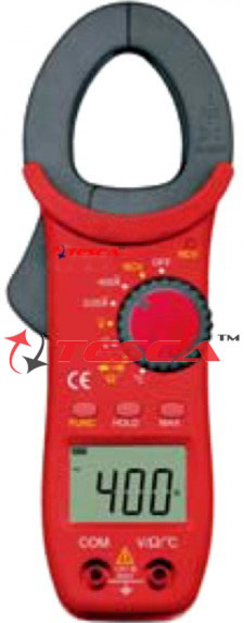 3 1/2 Digit / 2000 Count 400A AC Autoranging Digital Clampmeter