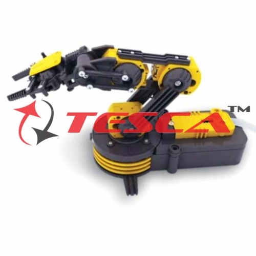 5 Axis Robotic Arm Trainer Kit with voice control