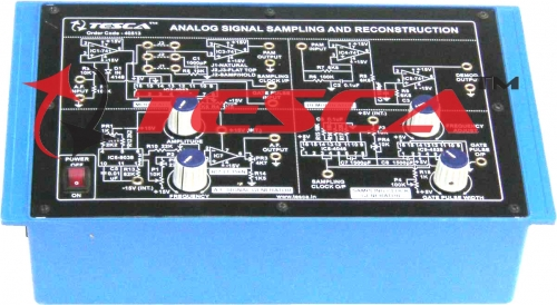 Analog Signal Sampling & Reconstruction Trainer
