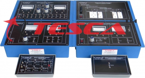Basic Electronic Trainer - Set of 6 Boards