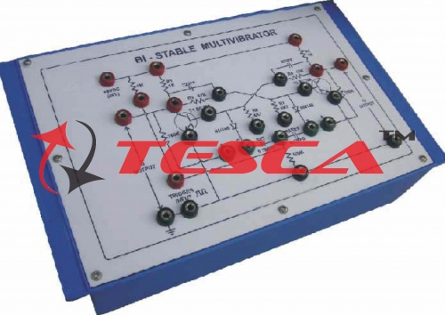Bi-Stable Multivibrator with power supply