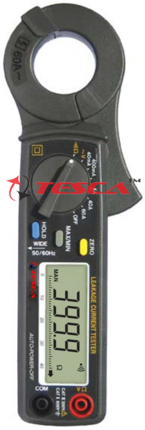 Clamp - On Earth / Ground Resistance & Leakage Current Testers: