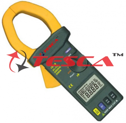 Clamp-On Power Meters : 3Phase / 1Phase TRMS