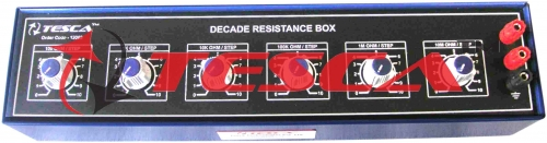 Decade Resistance Boxes Six Dials 1 Ohm to 1M Ohms