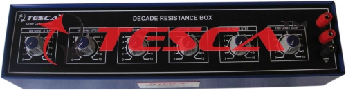 Decade Resistance Boxes Six Dials 100 Ohms to 100M Ohms
