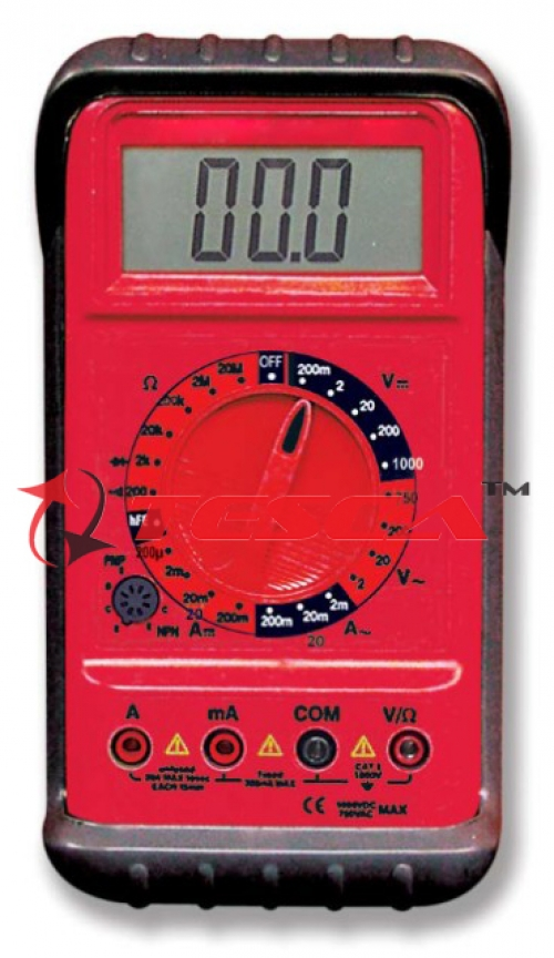 Digital Multimeter Hand-Held (3 1/2 digit)