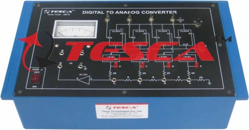 Digital to Analog Converter (D to A)