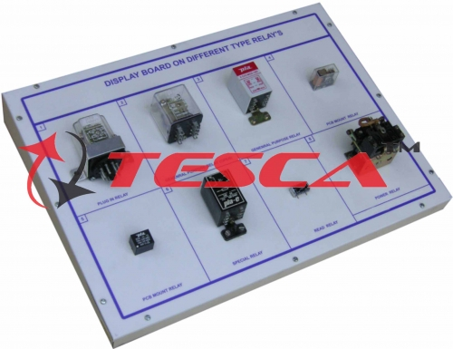 Display Board - Different Relays