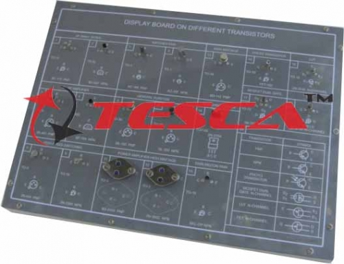 Display Board - Different Transistors