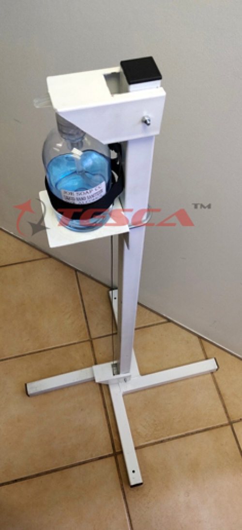 Foot Pedal Sanitizing Stand (Made in South Africa)