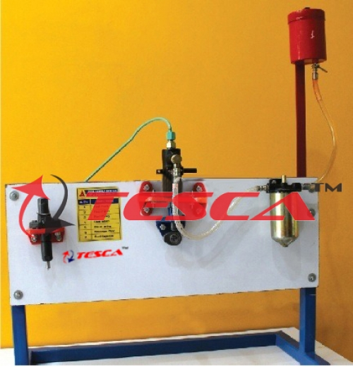 Fuel Supply System Of A Diesel Engine - Actual Working Model