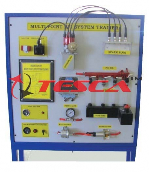 Fuel Supply System Petrol MPFI Type (Actual Working Model) Multi Point Fuel Injection