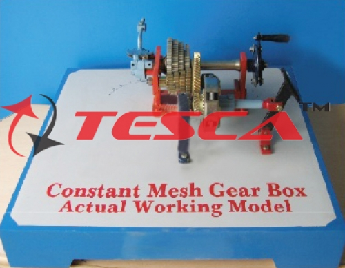 Gear Box - Actual Cut Section - Constant Mesh Gear Box - Actual Cut Section