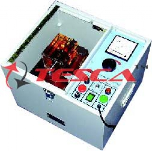 Insulating Oil Tester - Analog - Motorised 100KV