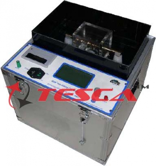 Insulating Oil Tester - Fully Automatic - 100KV