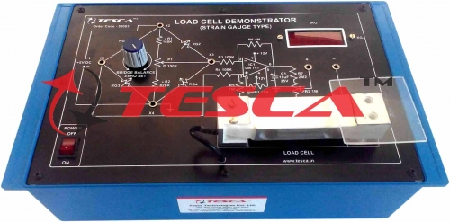 Load cell demonstrator (C.R.)