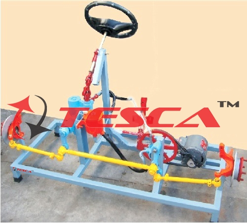 Manual Steering System - Tilt, Telescopic & Collapsible Steering System