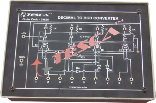 Module - Decimal to BCD Converter