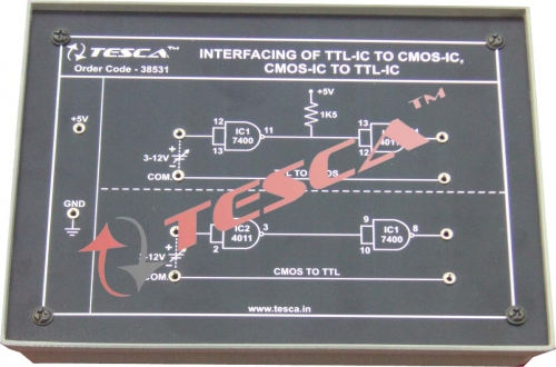 Module - Interface of TTL-IC to CMOS-IC & CMOS IC to TTL-IC