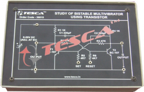 Module - Study of Bistable multivibrator using transistor