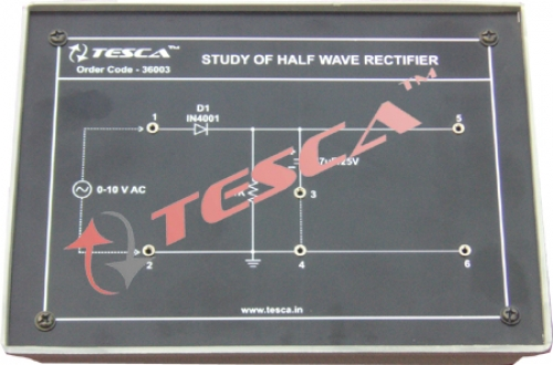 Module - Study of Half wave rectifier