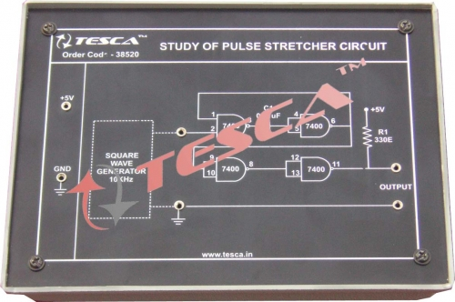 Module - Study of pulse stretcher circuit