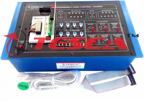 PLC (Delta) Trainer 8 input - 6 output Optional: Application Board for PLC