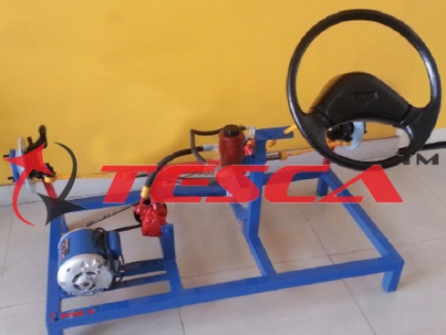 Power Steering System - Hydraulic Power Steering System (Motorised) - Actual Working