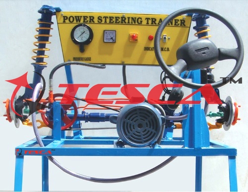 Power Steering System - Power Steering Trainer System - Actual Working