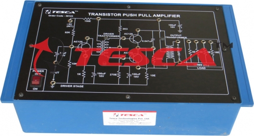 Push Pull Amplifier with power supply