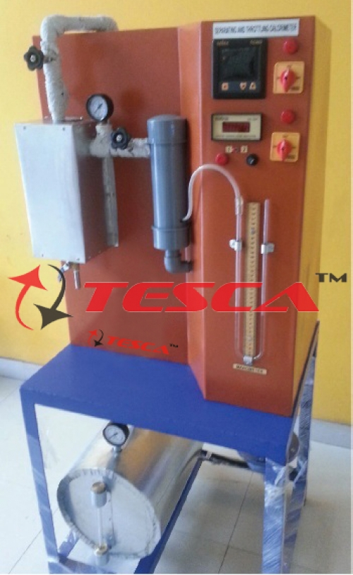 Separating & Throttling Calorimeter With Boiler