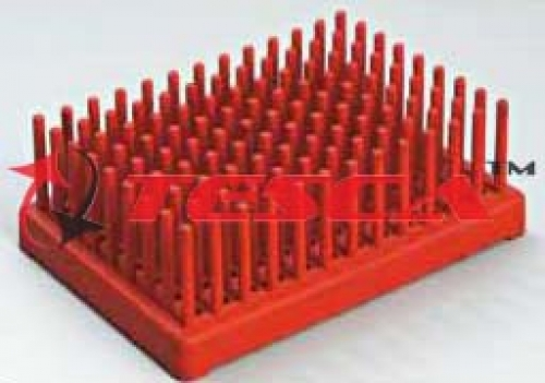Test Tube Peg Rack