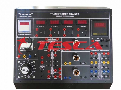 Transformer Trainer (Single Phase & Three Phase)