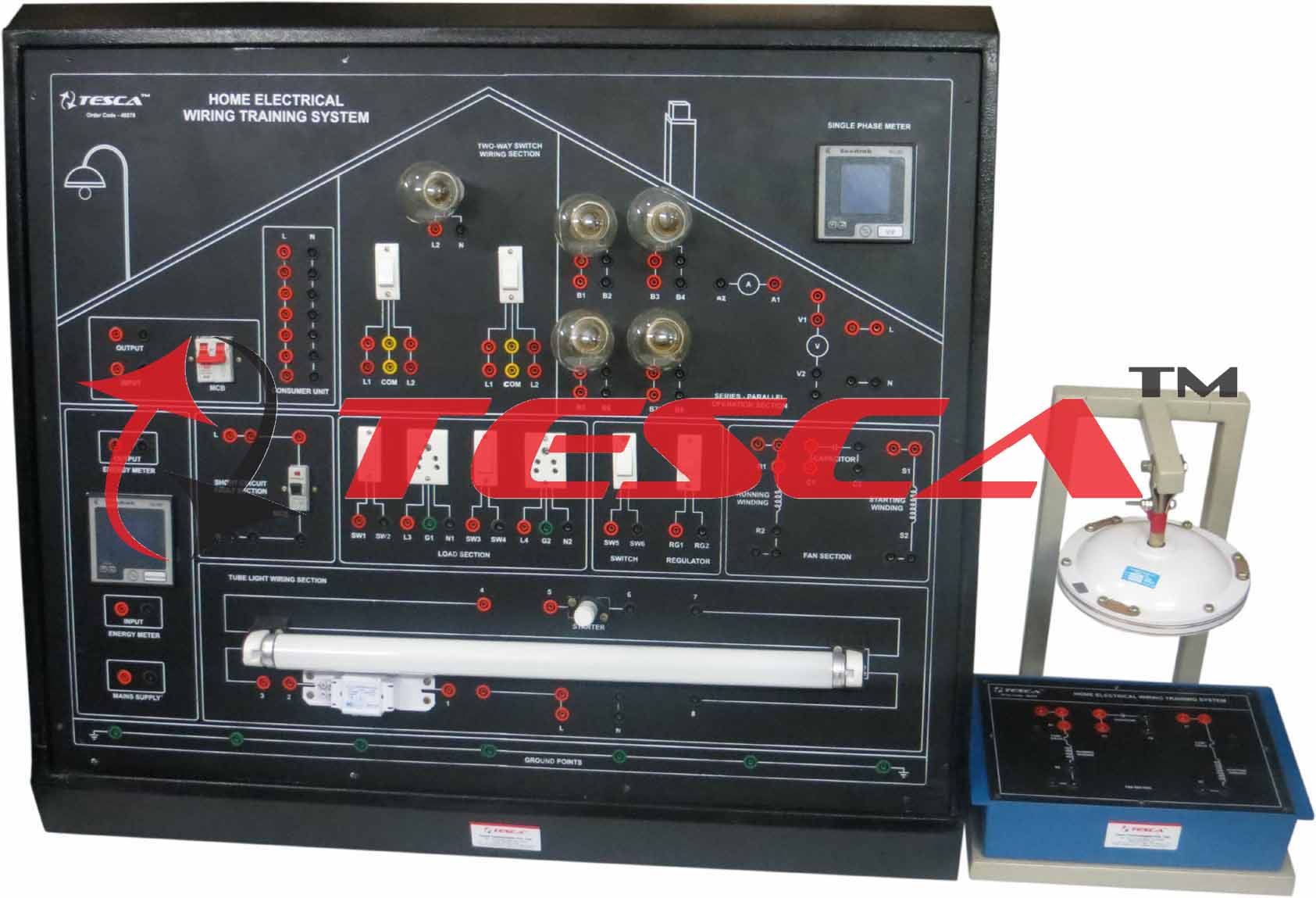 Home Electrical Wiring Training System 1878 3875